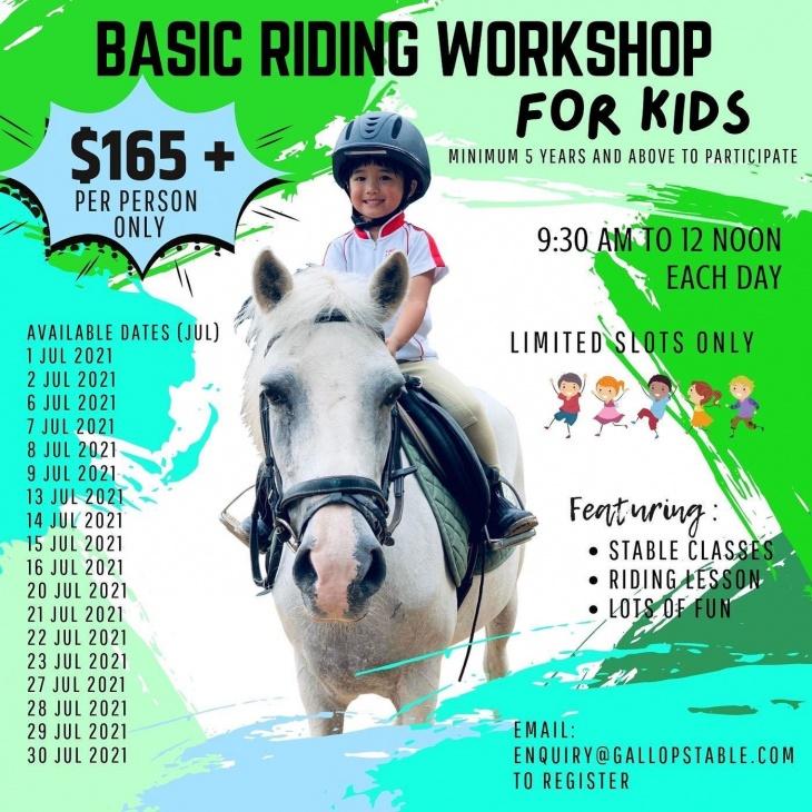Basic Riding Workshop for Kids