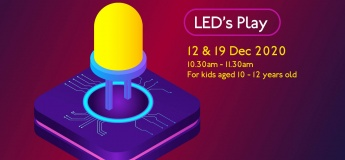 Led's Play Christmas Workshop @Science Centre Singapore