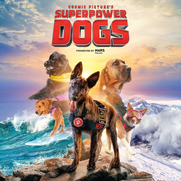Superpower Dogs @Omni- Theatre