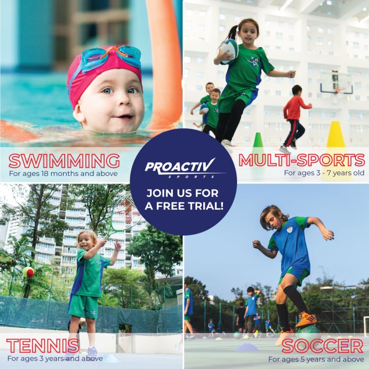 New Term @ProActiv Sports Singapore