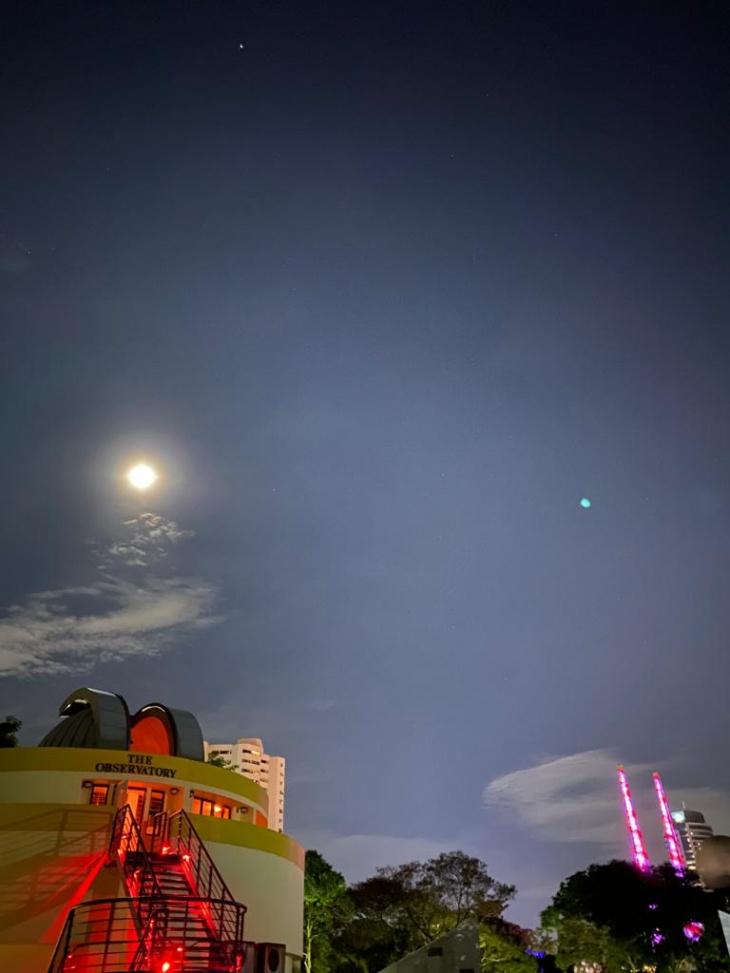 Stargazing @Science Centre Observatory & Digital Planetarium Show @Omni Theatre