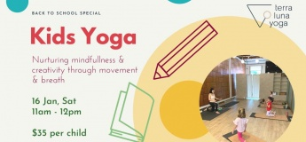 Kids Yoga - Back to School Special!