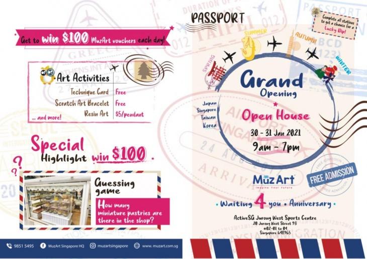 Grand Opening Open House @Muzart Singapore HQ