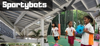 Sportybots at PA PAssion WaVe @Jurong Lake Gardens