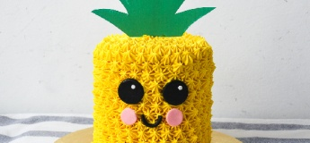 ToTT Junior Chef: Pineapple Buttercream Cake
