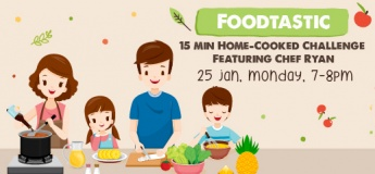 SAFRA Punggol Foodtastic Home-Cooked Challenge Featuring Chef Ryan - Pineapple Fried Rice