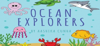 Home Enrichment - Ocean Explorers Art & Sensory Play