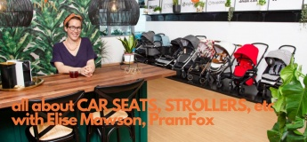 Coffee Morning all about transporting babies/toddlers - with Elise Mawson of PRAMFOX