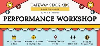 Gateway Stage Kids Performance Workshop