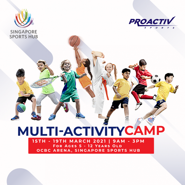 Multi-Activity Camp with ProActiv Sports Singapore