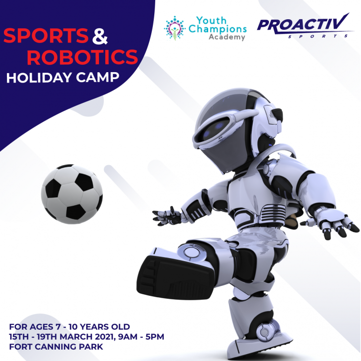 Sports & Robotics Holiday Camp with ProActiv Sports Singapore
