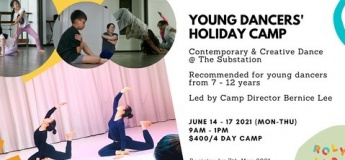 Young Dancers' Holiday Camp: Contemporary and Creative Dance