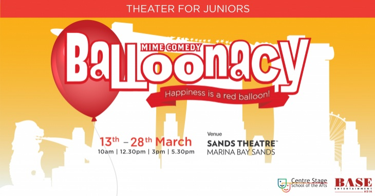 Junior Theater: 'Balloonacy' Mime Comedy