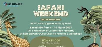 Safari Weekend at ESR BizPark @Chai Chee