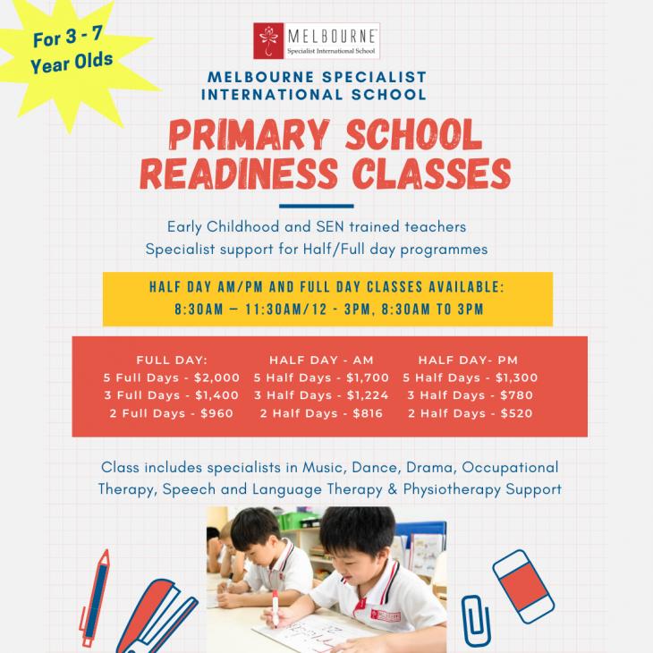 Primary School Readiness Classes