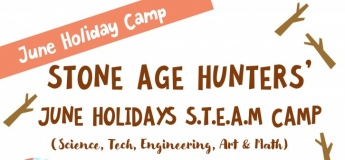 Stone Age Hunters' June Holiday Camp