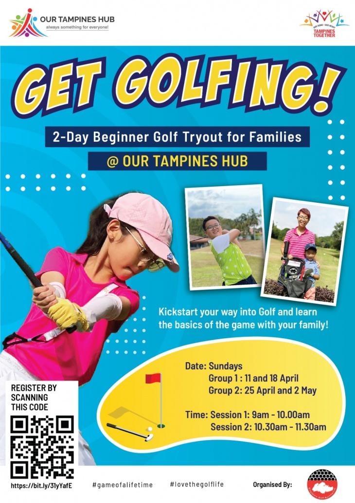 Get Golfing @Our Tampines Hub