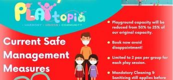PLAYtopia Indoor Playground Re-Opening