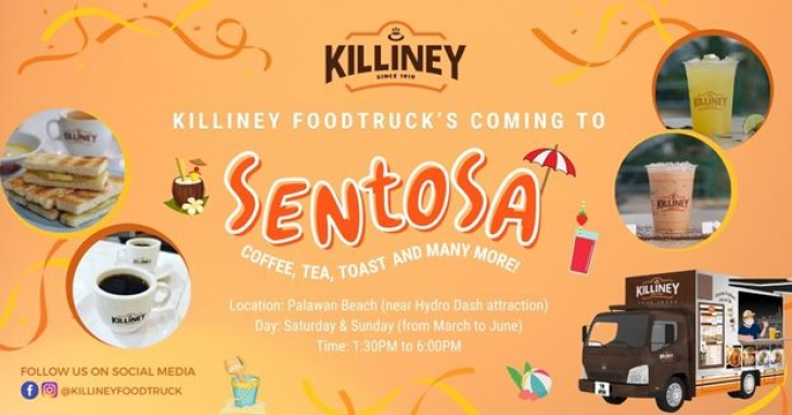 Killiney Food Truck at Palawan Beach