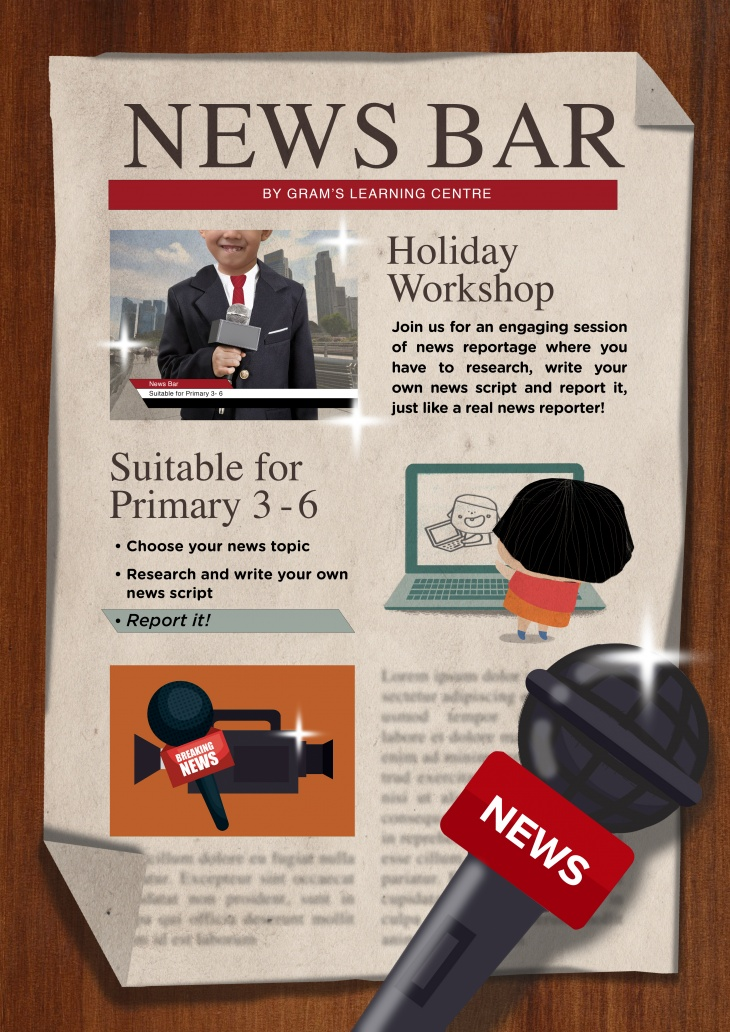News Bar @GRAM'S Learning Centre