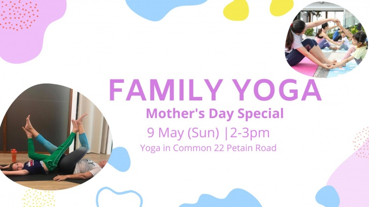 (CANCELED) Mother's Day Family Yoga