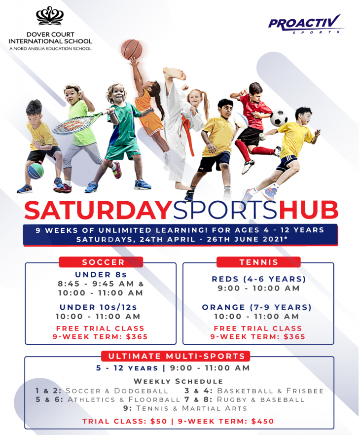 Saturday Sports Hub at Dover Court