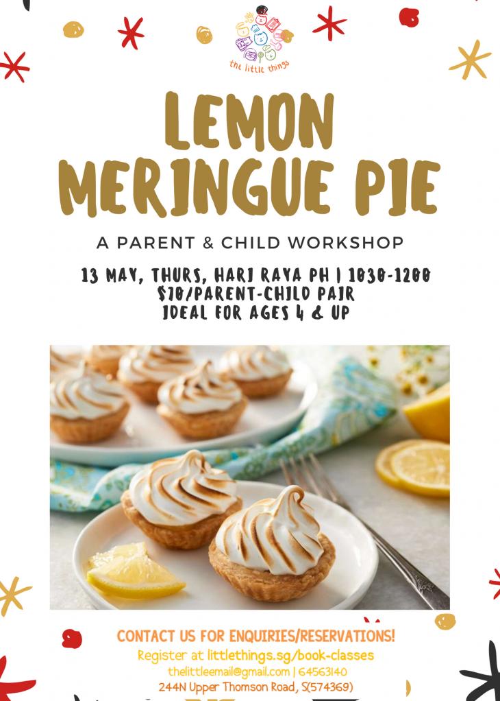 Parent & Child – Lemon Meringue Pie (Hari Raya)
