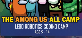The Among Us All Lego Robotics Coding Technology STEAM School Holiday Summer Camp