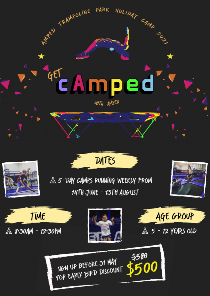Amped Summer Holiday Camps 2021
