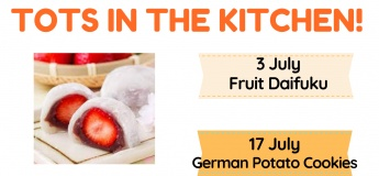 Tots In The Kitchen July - August