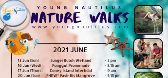 SG Nature Walks (June - August 2021)
