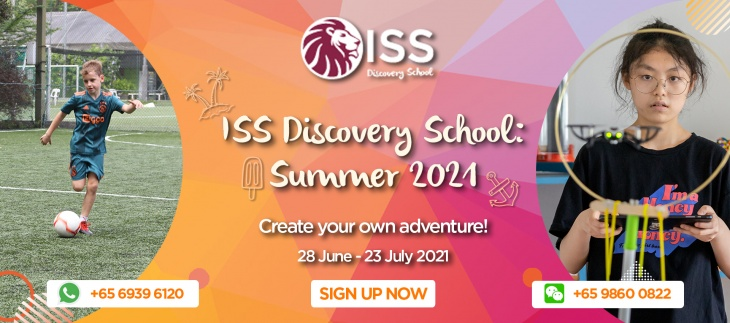 ISS Discovery School: Summer 2021