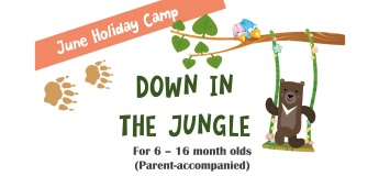June Holiday Camp: Down in the Jungle!