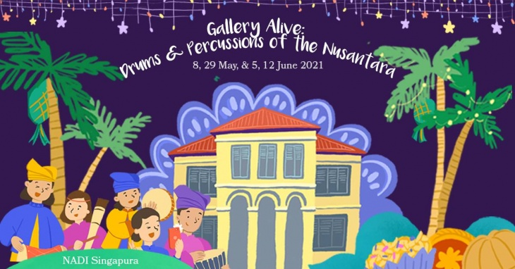 Gallery Alive: Drums & Percussions of the Nusantara