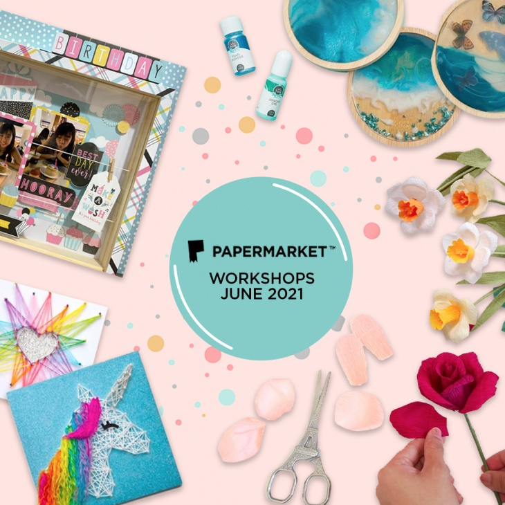 Grand Opening Party & Workshops @PaperMarket