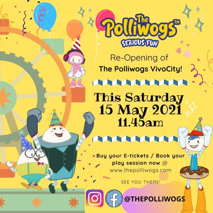 Re-Opening of The Polliwogs VivoCity