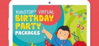 KidsSTOP Virtual Birthday Party