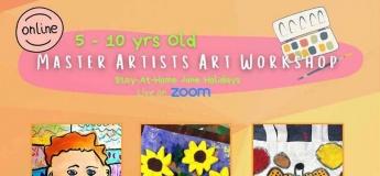 Master Artists Art Workshop with Absolute Minds Pte Ltd