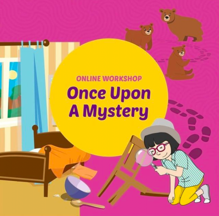 Online Workshop: Once Upon a Mystery