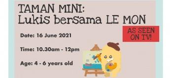 Taman Mini: Lukis bersama Le Mon