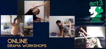 Online Drama Workshops with Act 3 International