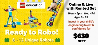3 Day Online Camp: Ready to Robo! with LEGO Robotics Kits