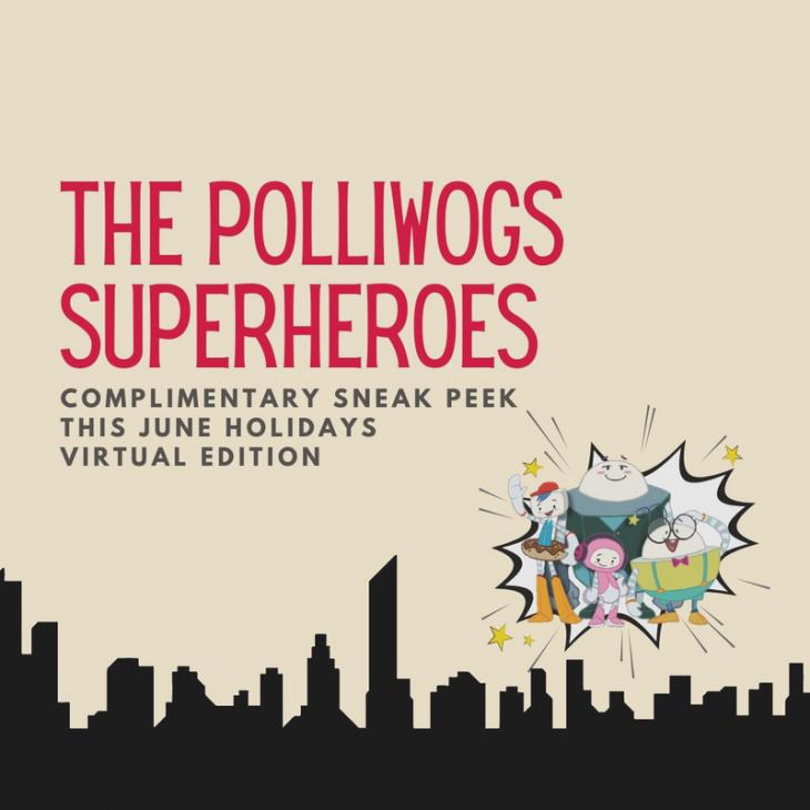 The Polliwogs Superheroes Open Class