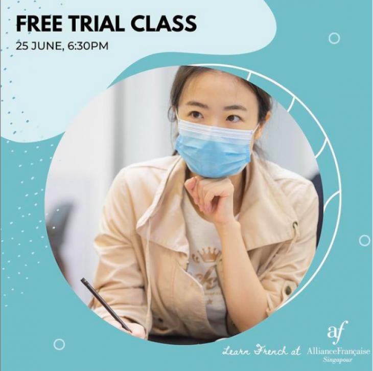Free Trial Class @Alliance Francaise de Singapour