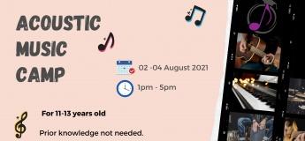 Acoustic Music Camp (Pre-Teens)