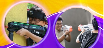 OTH Laser Tag Battle