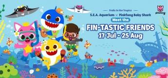 S.E.A. Aquarium X Pinkfong Baby Shark Meet the Fin-tastic Friends