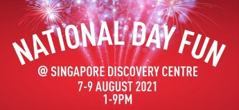 National Day Fun @Singapore Discovery Centre