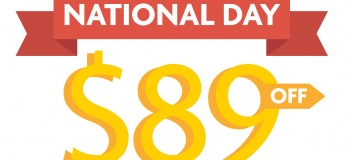 Countdown to National Day $89 OFF Promo for all New Enrolments