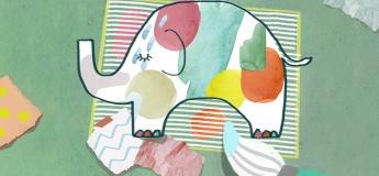 Elmer the Elephant (Story and Canvas) Workshop